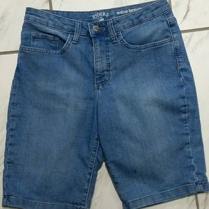 Riders by Lee Blue Jean Shorts Size 8M (UJ0508)